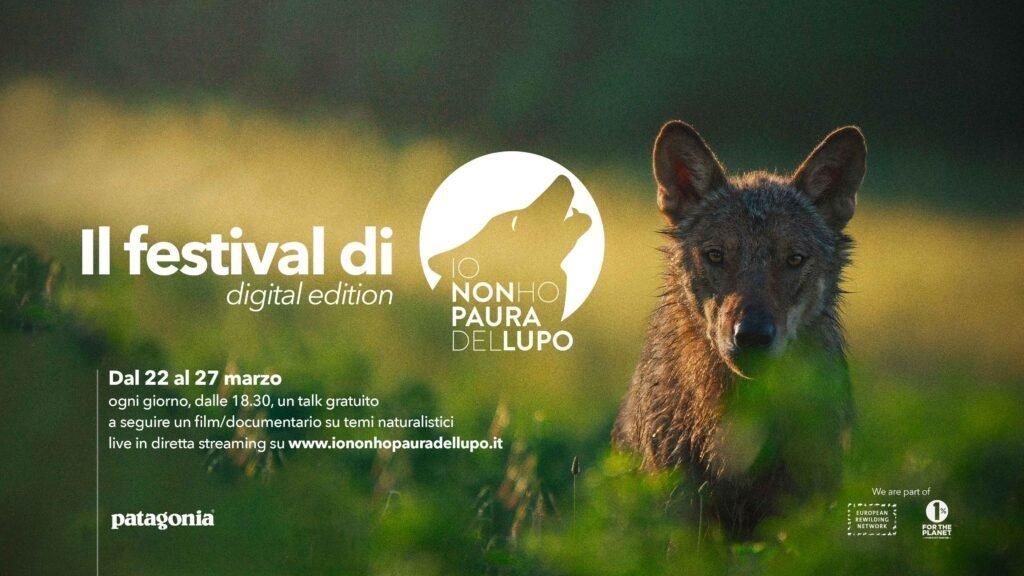 WolfAlps EU partecipa al festival di #iononhopauradellupo 2021 - Digital Edition - Life Wolfalps EU