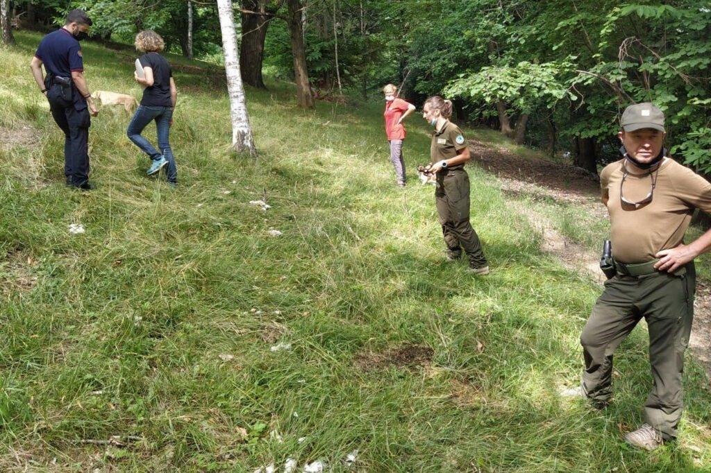 WPIU sul campo a Venasca - Life Wolfalps EU